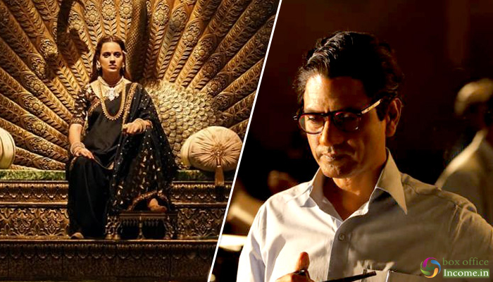 Manikarnika and Thackeray 5th Day Collection, Both Films Heading steadily in weekdays