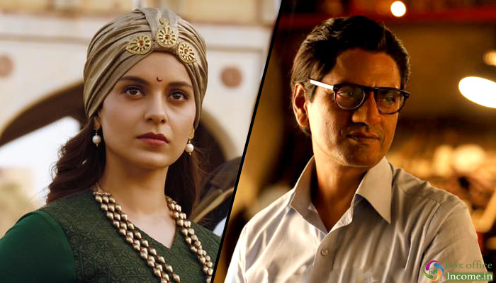 Manikarnika and Thackeray 7th Day Box Office Collection, 1st Week Report