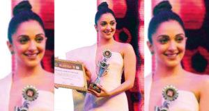 Asiavision Awards 2018:- Actress Kiara Advani receives the Emerging Star Of The Year Award!