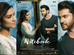 Notebook First Look Poster, Zaheer-Pranutan's Film Trailer Coming on Feb 17