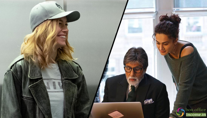 Captain Marvel & Badla 2nd Day Collection, Both Films take Fair Growth on Saturday
