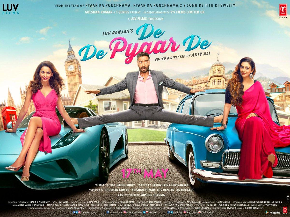 De De Pyaar De First Look, Ajay Devgn, Rakul Preet Singh & Tabu Starrer to Release on 17 May 2019