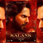 First Look of Varun Dhawan as Zafar from Kalank, April 2019 Release!