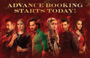 Kalank Online Advance Booking is Open, Multi starrer to Release on 17 April 2019