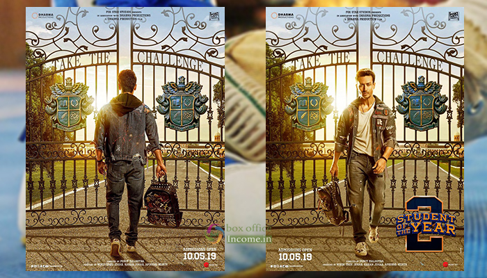 Student Of The Year 2 First Look Poster is Out, Trailer Coming on April 12th