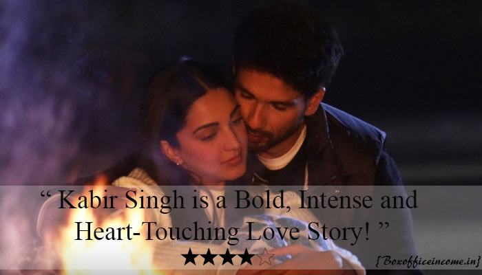 Kabir Singh Movie Review: A Bold, Intense and Heart-Touching Love Story!