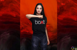 "Bollywood Actress Kiara Advani Roped for a Popular Brand ""Boat""!"