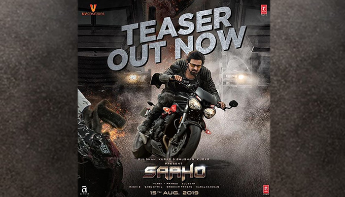 Saaho Teaser: Prabhas and Shraddha Kapoor starrer Looks High on Action & Thrill