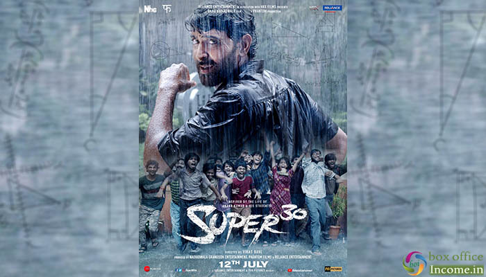 Super 30 First Look, Hrithik Roshan's Film Trailer Coming on June 4, 2019