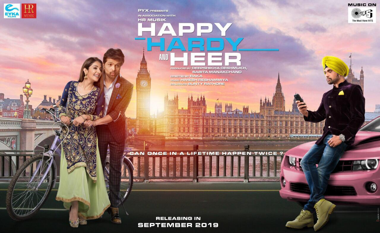 First Look Himesh Reshammiya to play Harshvardhan Bhatt and Harpreet Singh Lamba in Happy Hardy And Heer