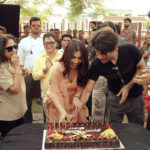 Bhumi Pednekar Celebrates Birthday With Team Pati Patni Aur Woh!