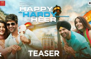 The Musical Teaser of Himesh Reshammiya's Film Happy Hardy and Heer (HHH) is Out Now!