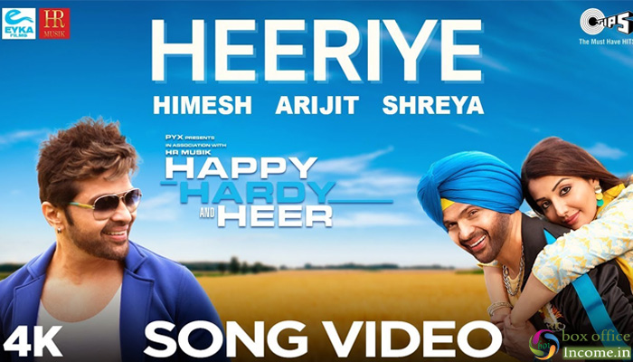 Himesh Reshammiya Releases First Song 'Heeriye' from 'Happy Hardy And Heer'