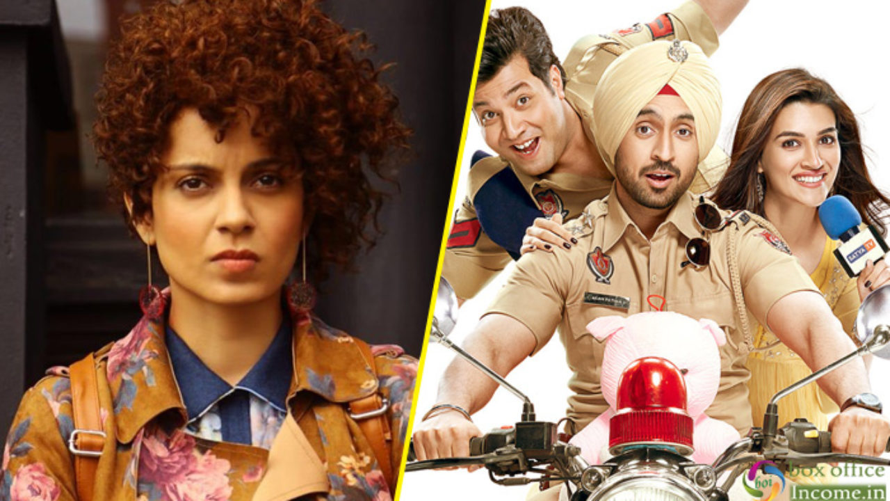 Judgementall Hai Kya and Arjun Patiala 6th Day Collection at the