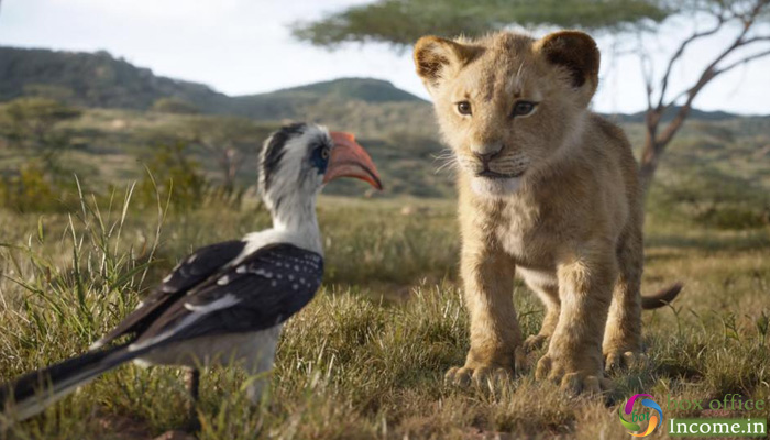 The Lion King 3rd Day Collection, Completes 1st Weekend on a Strong Note!