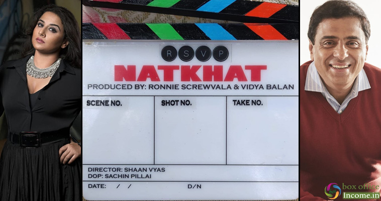 Vidya Balan & Ronnie Screwvala Come Together For A Socially Relevant Short Film – 'Natkhat'