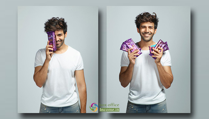 Chocolate Boy Kartik Aaryan roped in as brand Ambassador of Cadbury Dairy Milk Silk!