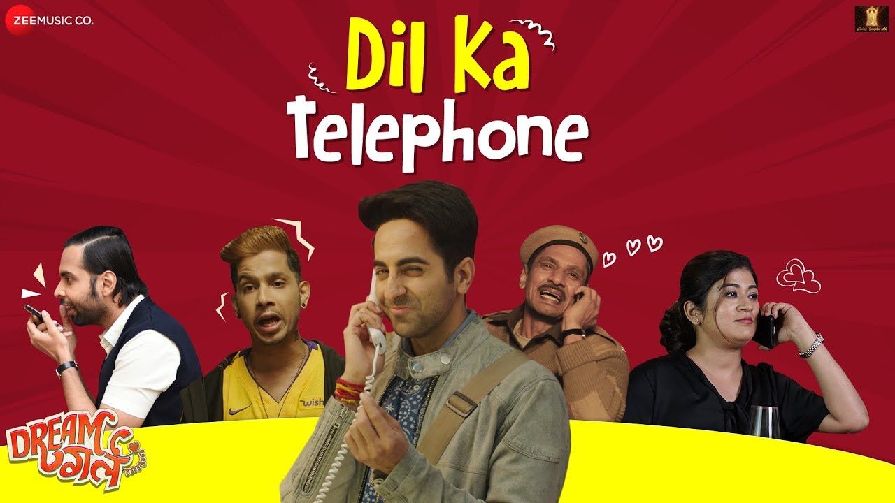 Dil Ka Telephone from Dream Girl, This Song will Definitely Tickle your Funny Bones!