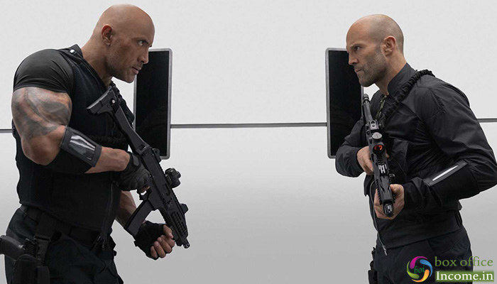 Fast & Furious: Hobbs & Shaw 4th Day Collection, Usual Drop on Monday in India