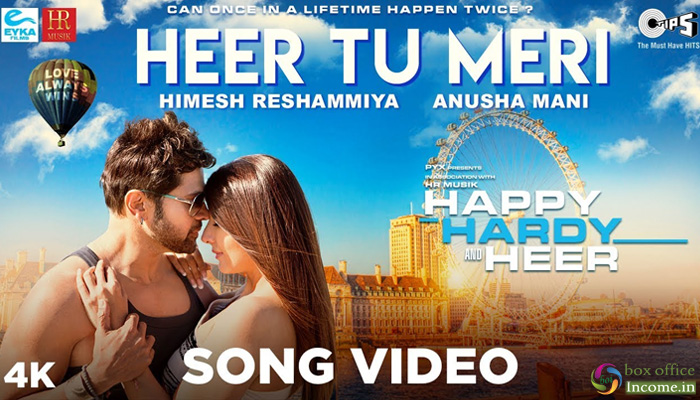 Himesh Reshammiya Releases Third Song 'Heer Tu Meri' from 'Happy Hardy And Heer'
