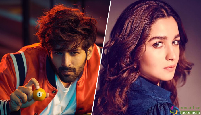 Kartik Aaryan and Alia Bhatt Is The Most Eligible Bachelor - Bachelorette, According To Recent Poll!