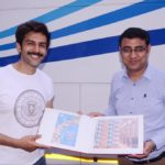 Kartik Aaryan gets customised stamps from Hazratganj (Lucknow) Post Office!