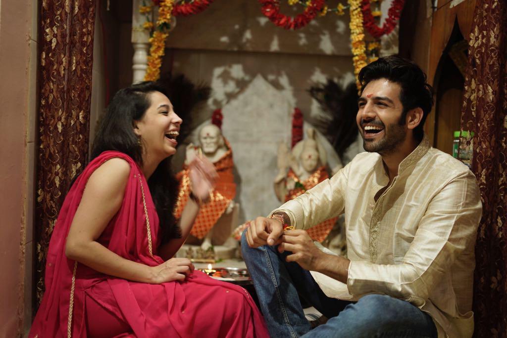 On Special Day of Raksha Bandhan, Kartik Aaryan spoke about the bond with sister Kritika!