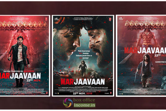 Marjaavaan First Look Posters- Sidharth-Riteish starrer Releases on 22 Nov 2019