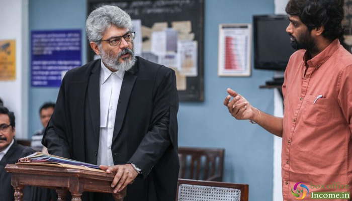 Nerkonda Paarvai 1st Day Collection, Ajith Starrer takes Excellent Opening in Tamil Nadu