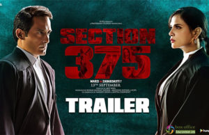Section 375 Trailer: Richa Chadha and Akshaye Khanna's Film Promises A Hard-Hitting Drama!