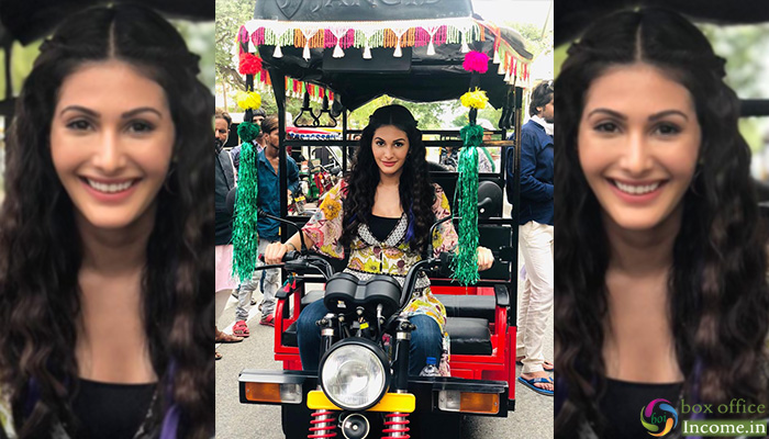 Amyra Dastur Drives 'Tuk Tuk' Like A Pro For A Song Sequence In 'Prassthanam'