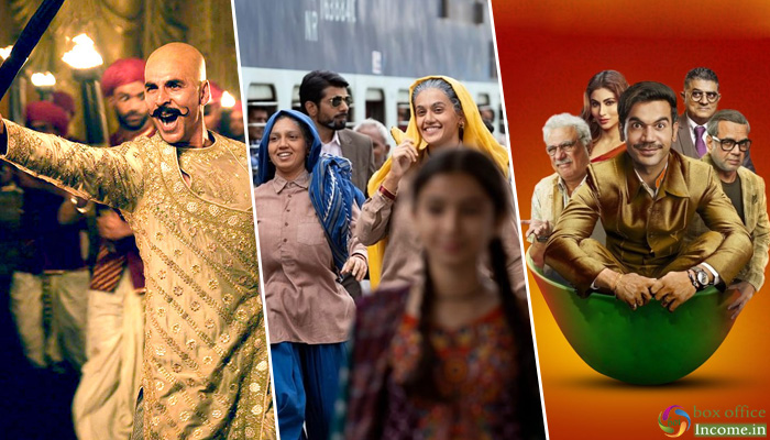 Housefull 4, Saand Ki Aankh And Made In China 1st Day Collection across India!