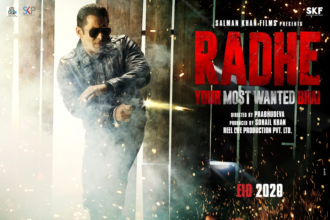 Radhe: Your Most Wanted Bhai First Look, Salman Khan is Coming on Eid 2020!