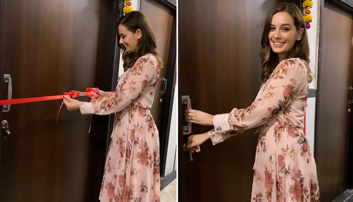 Evelyn Sharma Celebrates her 10 Year Success With Buying A Flat in Mumbai!