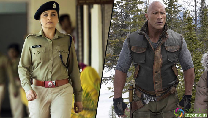 Mardaani 2 and Jumanji: The Next Level 5th Day Collection, Remain Steady on Weekdays!
