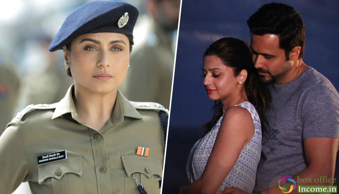 Mardaani 2 and The Body 1st Day Collection, Rani Mukerji starrer Takes Lead!