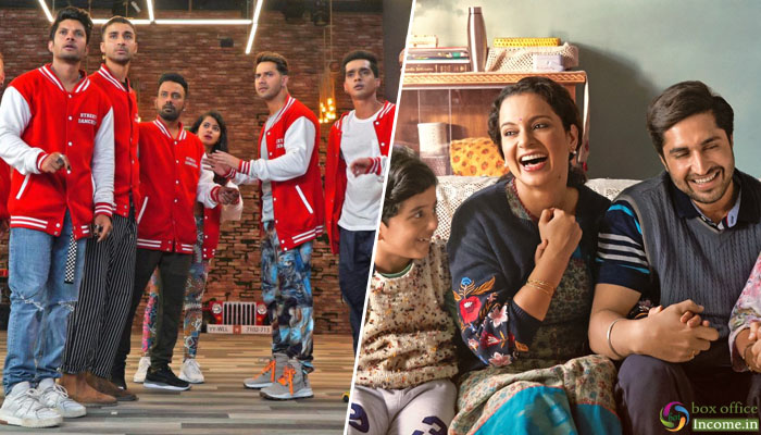 6th Day Collection: Street Dancer 3D hits a Half Century, Panga Remains Steady!