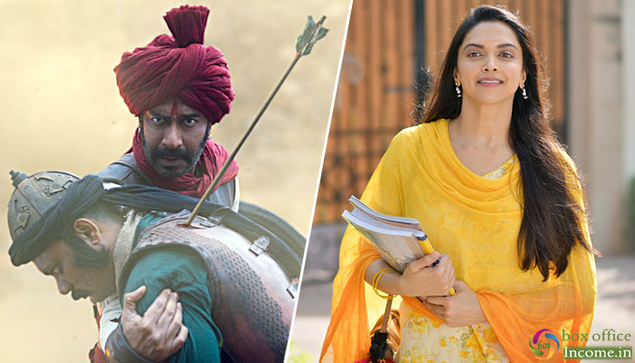 Tanhaji and Chhapaak 14th Day Collection, Ajay Devgn's Film Set to Hit Double-Century!