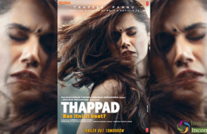 Taapsee Pannu looks intense in the First Look of Thappad, Trailer Out Tomorrow!