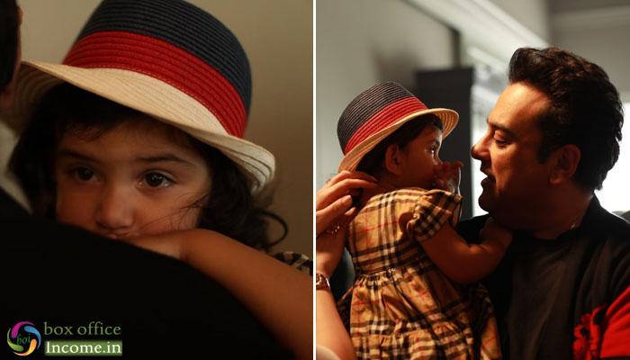 Adnan Sami's daughter Medina cry on the sets of 'Tu Yaad Aya'