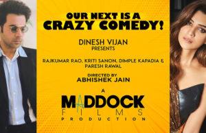 Rajkummar Rao and Kriti Sanon Reunite For A Crazy Comedy Film - Read Details