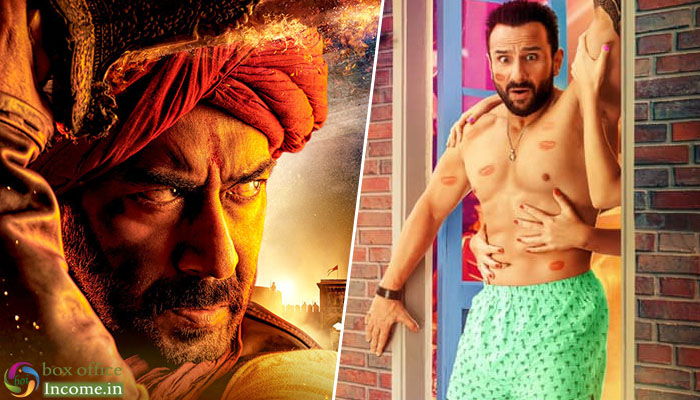 Tanhaji 35th Day and Jawaani Jaaneman 14th Day Box Office Collection Report