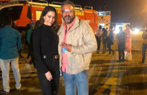Waluscha De Sousa shoots for her upcoming Action Packed Web Series