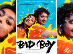 Salman Khan unveils the poster of Bad Boy, Ft.- Namashi Chakraborty & Amrin Qureshi
