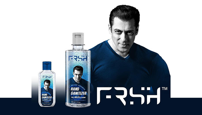 Superstar Salman Khan Launches his Own Personal Care Brand - FRSH!