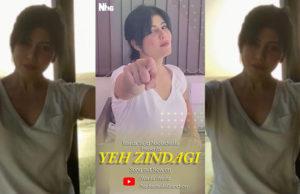 Warda Nadiadwala & Farhad Samji's Song Yeh Zindagi is a Tribute to Frontline Workers