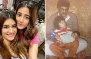 Nupur Sanon shares a picture from her infant days where she calls Kriti her Choti Mumma!
