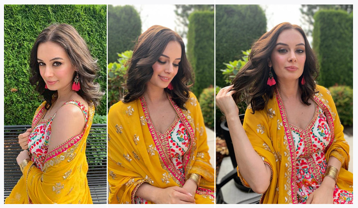 Evelyn Sharma Shines bright like the Sunshine in her Desi Look!