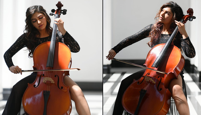 Tulsi Kumar adds to her skill set; learns the cello and contemporary dance form for her latest single, 'Naam'