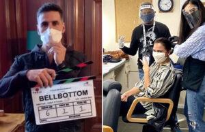 Lights, Camera, Mask on, Action! Akshay Kumar starts shoot for 'Bell Bottom' in UK